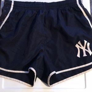 Victoria Secret Pink New York Yankees shorts